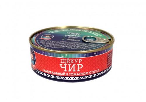 Чир (натуральный в томатном соусе) 240 г.