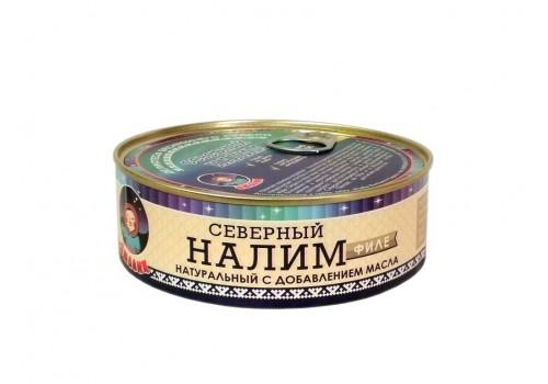 Налим филе (натуральный с добавлением масла) 240 г.