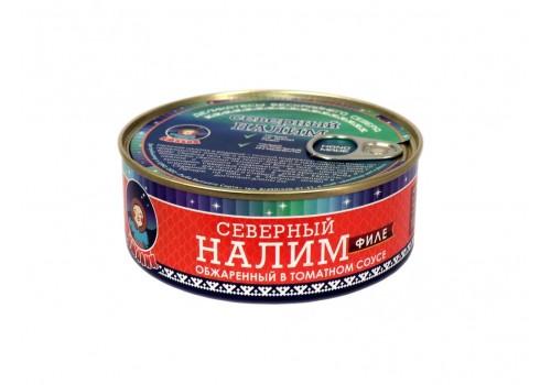 НАЛИМ ФИЛЕ (обжар. в томат. соусе)  240 ГР ГОСТ 7455-2013