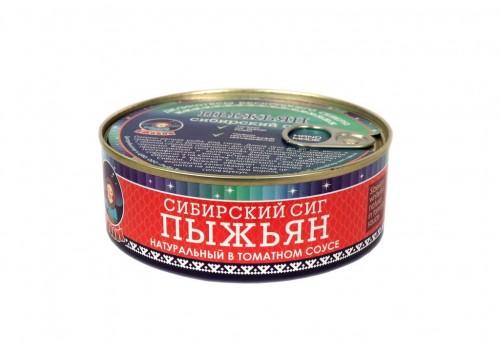 ПЫЖЬЯН (нат. в томат. соусе)  240 ГР ГОСТ 7455-2013