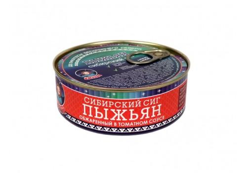 ПЫЖЬЯН (обжар. в томат. соусе)  240 ГР ГОСТ 7455-2013