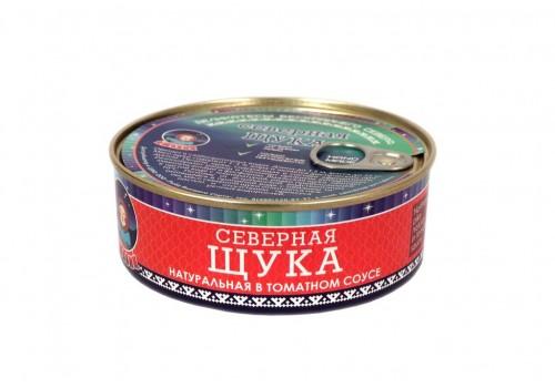 Щука (натуральная в томатном соусе) 240 г.