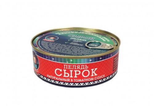 Сырок (натуральный в томатном соусе) 240 г.